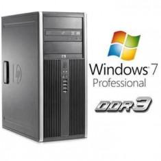 Calculator Refurbished HP 8000 Elite MT E8400 Windows 7 Pro - Sisteme desktop cu monitor