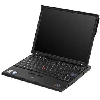 Laptop Lenovo ThinkPad X60 Core Duo T2400 foto mare