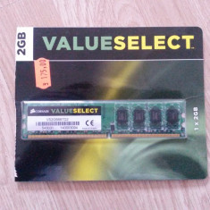 Memorie RAM PC - DDR2 / 2 GB / 667 MHz - CORSAIR Value Select