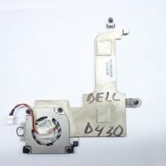 Sistem racire Cooler + Ventilator laptop DELL D430 ORIGINAL! Fotografii reale! - Cooler laptop