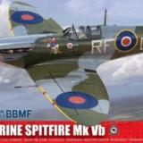 Kit Constructie Si Pictura Avion Supermarine Spitfire Mk Vb Scara 1/24 - Jocuri Seturi constructie Airfix