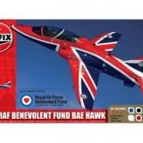 Kit Constructie Si Pictura Avion Raf Benevolent Fund Bae Hawk - Jocuri Seturi constructie Airfix