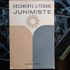 DOCUMENTE LITERARE  JUNIMISTE