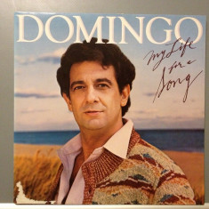PLACIDO DOMINGO - MY LIFE FOR A SONG (1983/ CBS REC/ HOLLAND) - Vinil/Vinyl - Muzica Pop Columbia