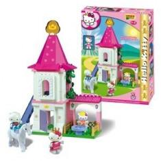 Set constructie Unico Plus Hello Kitty Castel - Set de constructie