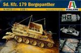 + Macheta 1:35 Italeri 6472 - SdKfz 179 Bergepanther Recovery Vehicle +