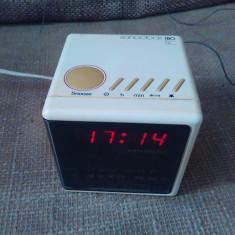 Vintage radio cu ceas Grundig Sonoclock, stare excelenta. - Aparat radio