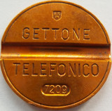 Jeton Telefonic Italia - Iunie 1966 *cod 2443