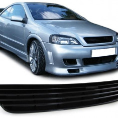 Grila sport Opel Astra G negru - Grile Tuning, ASTRA G (F48_, F08_) - [1998 - 2009]