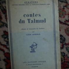 Contes du Talmud / choisis et transcrits de l'hebreu par Leon Berman - Carti Iudaism