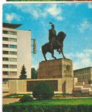 CPI (B6327) CARTE POSTALA - CLUJ-NAPOCA. STATUIA LUI MIHAI VITEAZUL, Circulata, Fotografie