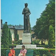 CPI (B6330) CARTE POSTALA - RAMNICU VALCEA. STATUIA LUI MIRCEA CEL BATRAN - Carte Postala Oltenia dupa 1918, Necirculata, Fotografie