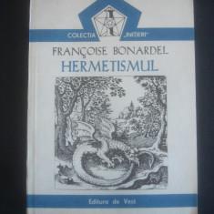 FRANCOISE BONARDEL - HERMETISMUL - Carte paranormal