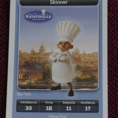 Cartonas / Sticker Esselunga - Ratatouille / Skinner ---- Disney / Pixar !!!! - Cartonas de colectie