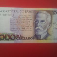 1000 CRUZADOS BRAZILIA-UNC - bancnota america