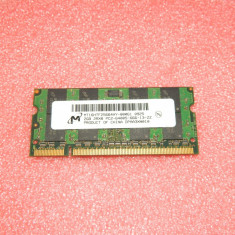 Memorie ram laptop 2GB Micron PC2-6400 DDR2-800MHz MT16HTF25664HY-800G1