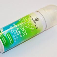 SPRAY ANTIPERSPIRANT PENTRU PICIOARE SI PANTOFI ESSENCE SHOW YOUR FEET 50 ML - Spray picioare
