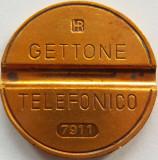 Jeton Telefonic Italia - Noiembrie 1979 *cod 2441