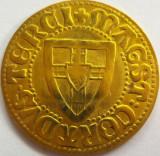 Jeton Cortdus Terai Magst - placat cu aur  *cod moneda 2456