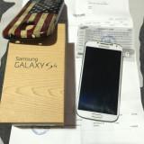 Samsung Galaxy S4 Alb - Telefon mobil Samsung Galaxy S4, 16GB, Neblocat, Single SIM