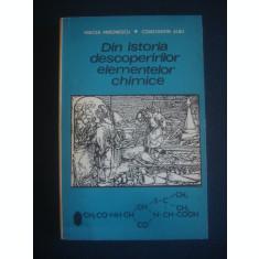 M. MIRONESCU, C. ALBU - DIN ISTORIA DESCOPERIRILOR ELEMENTELOR CHIMICE