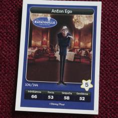 Cartonas / Sticker Esselunga - Ratatouille / Anton Ego ---- Disney / Pixar !!!! - Cartonas de colectie