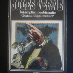 JULES VERNE - INTAMPLARI NEOBISNUITE * GOANA DUPA METEOR - Roman, Anul publicarii: 1994