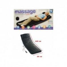 Saltea cu masaj si incalzire infrarosu - Aparat masaj