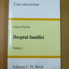 Emese Florin Dreptul familiei Bucuresti 2008 - Carte Dreptul familiei