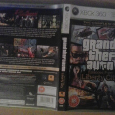 Grand Theft Auto - Episodes from Liberty City GTA - XBOX 360 (GameLand) - Jocuri Xbox 360, Actiune, 18+, Single player