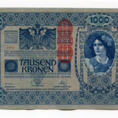 X237 AUSTRIA 1000 KRONEN 1902 aUNC aproape necirculata - bancnota europa