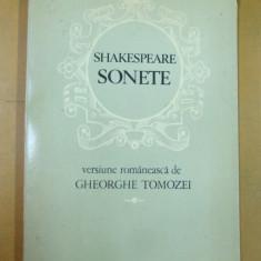 Shakespeare Sonete Bucuresti 1978