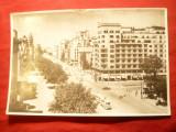 Ilustrata Bucuresti -Bul. N.Balcescu  ,anii '50, Necirculata, Fotografie
