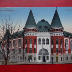 AKVDE 3 - Carte postala - Sighetu Marmației -Palatul culturii - Maramarossziget - Carte Postala Banat dupa 1918, Circulata, Printata