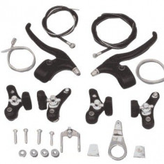 Set Complet Frana / Frane V-BRAKE + Manete + Cabluri Bicicleta BMX - Piesa bicicleta