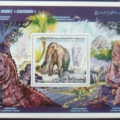 LIBIA 1995 - DINOZAURI, 1 S/S NEOBLITERATA - E1557B