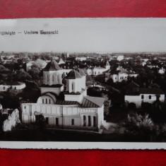 AKVDE 3 - Carte postala - Targoviste - Vedere Generala cu biserica - Carte Postala Banat dupa 1918, Circulata, Printata