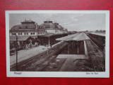 AKVDE 3 - Carte postala - Ploiesti - Ploesti - Gara de Sud, Circulata, Printata