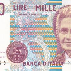 Bancnota Italia 1.000 Lire 1990 - P114c UNC
