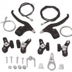 Set Complet Frana / Frane V-BRAKE + Manete + Cabluri Bicicleta - Piesa bicicleta