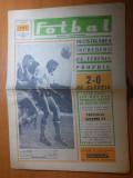 ziarul fotbal 28 noiembrie 1968 - meciul de fotbal romania - elvetia 2-0