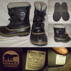 Cizme SOREL Waterproof (38)dama copii zapada iarna groase Canada - Cizma dama Sorel, Culoare: Din imagine