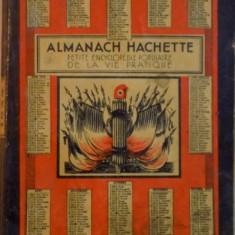 ALMANACH HACHETTE, PETITE ENCYCLOPEDIE POPULAIRE DE LA VIE PRACTIQUE 1939