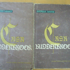 Thomas Mann Casa Buddenbrook 2 volume Bucuresti 1962 - Roman