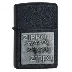 Bricheta Zippo 363 Black Cracke Silver PW - Bricheta Cu benzina