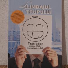 LIMBAJUL TRUPULUI -JAMES BORG - Carte dezvoltare personala