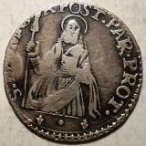 G.093 ITALIA PARMA ANTONIO FARNESE 1727 1731 1 LIRA ND ARGINT 3,55g, Europa