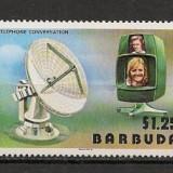 Barbuda.1977 100 ani telefonul SB.630 - Timbre straine, Nestampilat