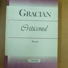 Gracian Criticonul Bucuresti 1987 - Roman istoric
