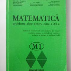 MATEMATICA - PROBLEME ALESE PENTRU CLASA A XII - A - CONSTANTIN UDRISTE
